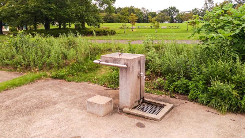 川越運動公園 水道