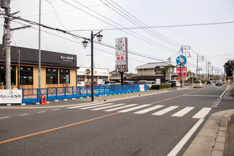 むさしの森珈琲 北本店 工事状況(2019/4/7)